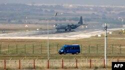نمایی از پایگاه هوایی اینجرلیک در ترکیه