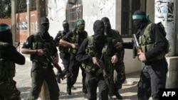 Так выглядели улицы Газы после заявления Аббаса о намерении распустить правительство автономии