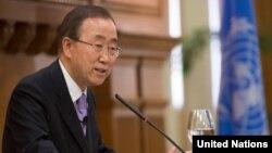 بان کی مون بر لزوم پیگیری گفتگوهای آمریکا و روسیه پیرامون کاستن از جنگافزارهای هسته ای دو کشور تأکید ورزیده است