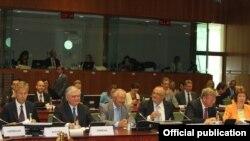 Բելգիա - Արևելյան գործընկերության նախարարական հանդիպումը Բրյուսելում, 23-ը հուլիսի, 2013թ․