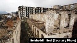 Şuşa şəhəri işğaldan sonra