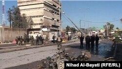 مقر مديرية شرطة كركوك بعد الهجوم