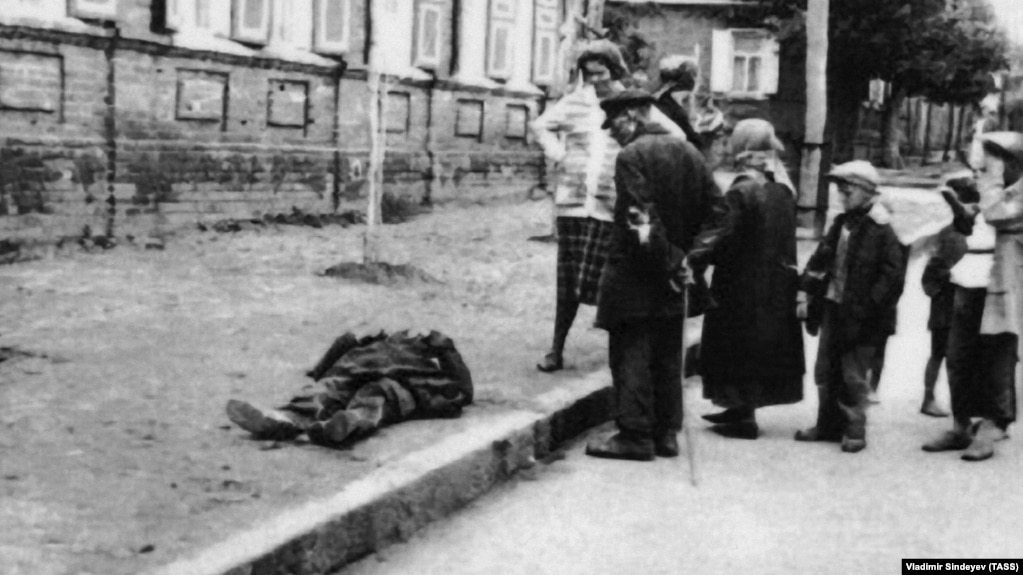 """Фрагмент выставки """"Голодомор 1932–33-х гг. – геноцид Украинского народа"""""""