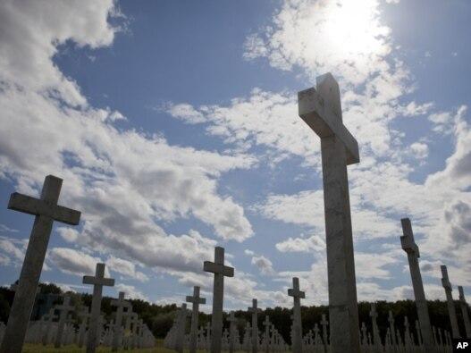 Groblje na kojem su sahranjene žrtve ratnih zločina u Vukovaru