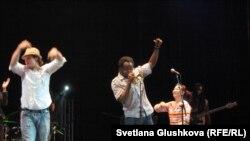 """Концерт джаз-группы """"Шамарр Аллен энд Андердогз"""". Астана, 21 апреля 2011 года."""