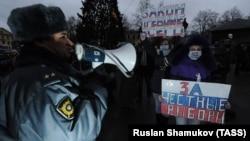 Митинг за честные выборы в Санкт-Петербурге, архивное фото