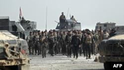نیروهای ژنرال عبدالغنی الاسدی در موصل