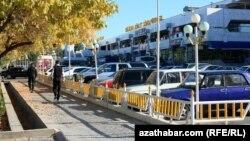 Şäher awtoduralgasy, Aşgabat.