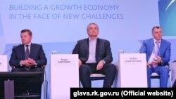 Аксьонов на бізнес-форумі в Ялті