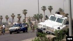 ارتش ایالات متحده از ماه ها پیش می گوید که ایران شورشیان عراقی را به مواد منفجره قوی مجهز می کند هرچند که تهران این ادعاها را رد کرده است.