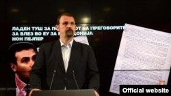 Наум Стоилковски, портпарол на ВМРО-ДПМНE