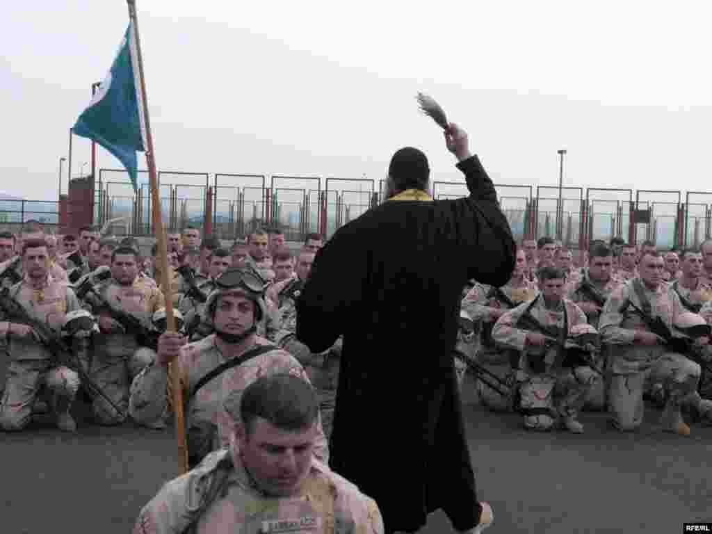 ავღანეთში გამგზავრებამდე ქართველი ჯარისკაცები მღვდელმა დალოცა - ავღანეთში გაემგზავრა საქართველოს შეიარაღებული ძალების 31-ე ბატალიონი, რომელიც 7 აპრილს გააცილეს ვაზიანის სამხედრო ბაზიდან. ცერემონიაში მონაწილეობდნენ საქართველოს თავდაცვის სამინისტროს მაღალჩინოსნები და აშშ-ის საზღვაო ქვეითი ძალების სარდლობის დელეგაცია. ქართული ბატალიონი, ამერიკელ საზღვაო ქვეითებთან ერთად, ავღანეთის ჰელმანდის პროვინციაში განთავსდება.