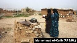 لاجئات سوريات في الموصل