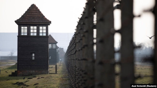 Мемориал Аушвиц-Биркенау в Польше (бывший нацистский лагерь смерти Освенцим)