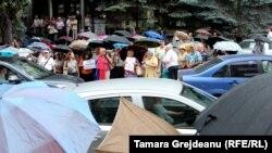Протест проти анулювання виборів мера Кишинева, Молдова, 29 червня 2018 року