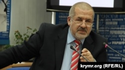 "Refat Chubarov, the leader of the Crimean Tatar Mejlis, calls the new broadcaster ""another propaganda tool for the occupiers in Crimea."""