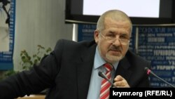 Ukraine, Crimea - Refat Chubarov, 7May2015