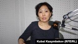 Кыргызстандын Улуу Британиядагы мурдагы элчиси Гүлнара Искакова.