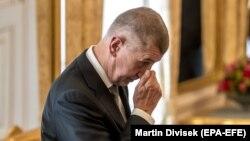 Андрей Бабиш в ожидании назначения на пост премьер-министра, Прага, 6 июня 2018 года
