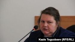 Судья Бостандыкского районного суда Татьяна Черныш. Алматы, 15 июня 2016 года.