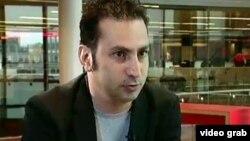 Ҳусейн Ғаффорӣ (Акс аз телевизиони форсии Би-би-сӣ гирифта шудааст)