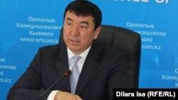 Марғұлан Марайым, Оңтүстік Қазақстан облыстық энергетика және тұрғын үй-коммуналдық шаруашылығы басқармасының басшысы. Шымкент, 18 қаңтар 2017 жыл.