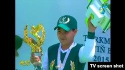 Керимгулы, внук президента Туркменистана Гурбангулы Бердымухаммедова.