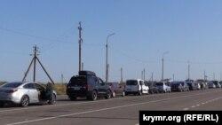 Украина, Херсонская область, Чонгар - территория КПВВ «Чонгар»