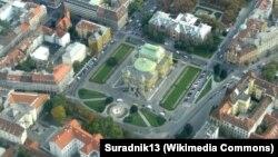 Pogled na Trg maršala Tita, Zagreb