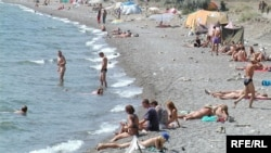 Пляж у Севастополі