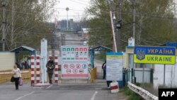 Punctul de trecere Kuciurgan-Pervomaisk, frontiera cu Ukraina