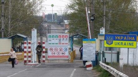 La punctul de control Cuciurgan-Pervomaisk, pe segmentul transnistrean al frontierei moldovene cu Ucraina