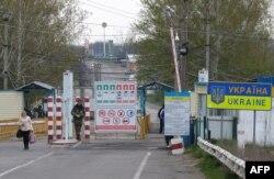 La punctul de trecere Kuciurgan-Pervomaisk