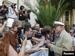 Çexiya - Mikhalkov Karlovy Vary Film Festivalında