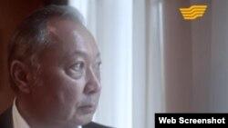 Кадр из фильма «Миссия Миротворца. Кыргызский разлом» на телеканале «Хабар».