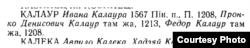 М. Бірыла. Беларуская антрапанімія. Уласныя імёны, імёны-мянушкі, імёны па бацьку, прозвішчы. Мн., 1966
