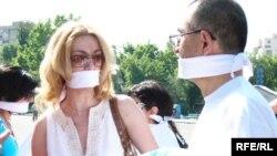 Накануне обсуждения законопроекта в парламенте Армении в Ереване прошли акции против проекта закона