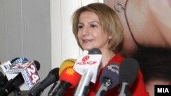 Вицепремиерката за евроинтеграции Теута Арифи