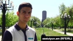 Քաղաքացիական ակտիվիստ Շահեն Հարությունյանը։