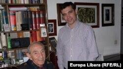 Efim Krimerman și profesorul Sergiu Musteață, Aachen (Foto: Sergiu Musteață)