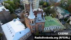 Будинок Підгорського (так званий «Замок барона») у центрі Києва на Ярославовому Валу