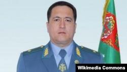 Министр внутренних дел Туркменистана Игендер Муликов.