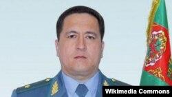 Глава МВД Туркменистана Искандер Муликов
