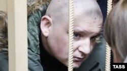 Полонені українські моряки у російському суді. 15 січня 2019 року