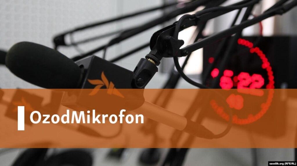 Uzbek banner - Open-microphone