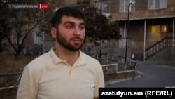 Armenia - Opposition Heritage party member David Sanasaryan released from custody, 19 Aug, 2016