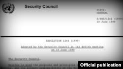 Rezoluta 1244 e Këshillit të Sigurimit