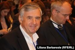 Omul de afaceri Ion Sturza la un Forum în 2017