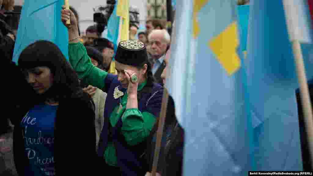 Кримчани не стримували емоцій