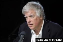 Дэвид Саттер в студии Радио Свобода, 2013 год